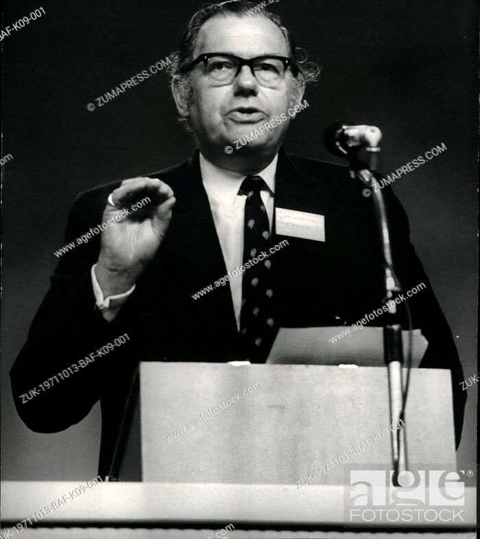 Imagen: Oct. 13, 1971 - October 13th, 1971 The Conservative Party Conference Opens At Brighton ?¢'Ǩ'Äú The Conservative Party Conference at Brighton today called for.