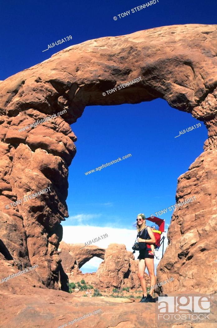 Stock Photo: USA - National Park - Arches.