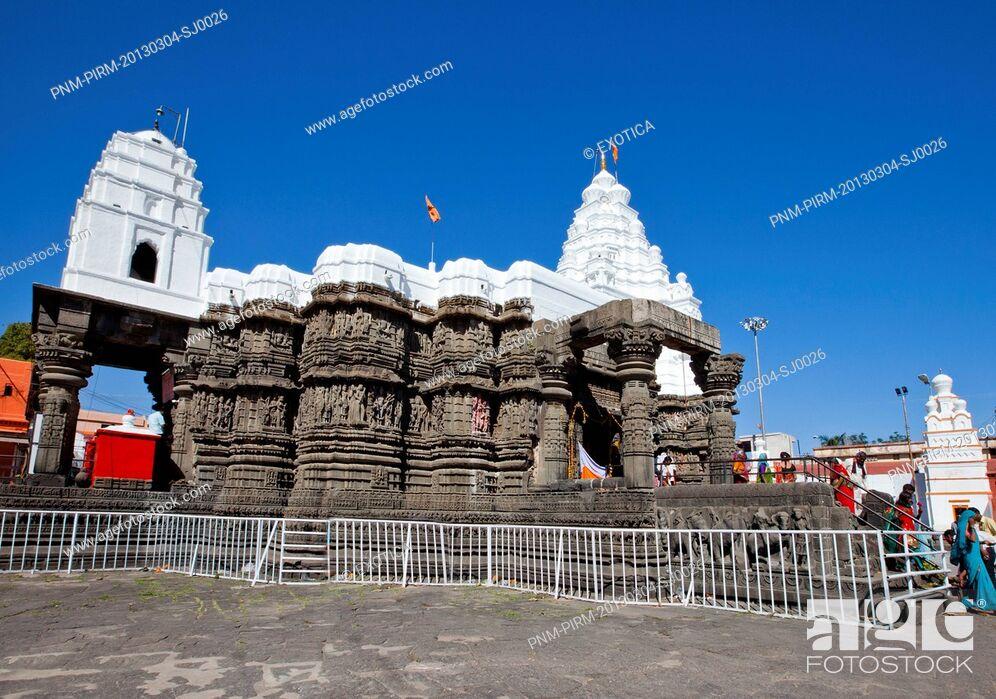 Stock Photo: Aundha Nagnath Temple, Aundha Nagnath, Hingoli, Maharashtra, India.