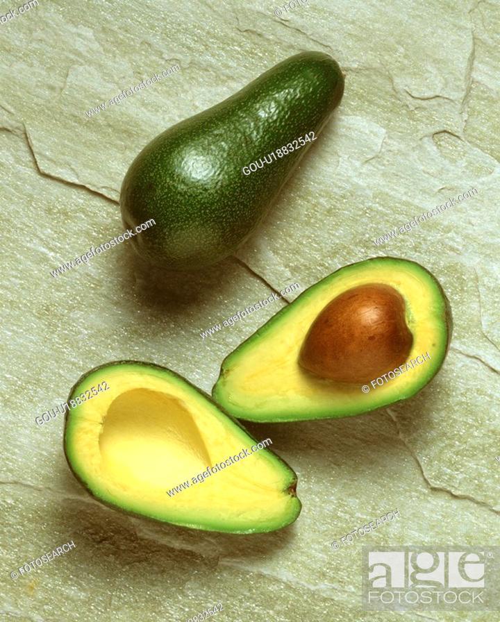 Stock Photo: Avocado.