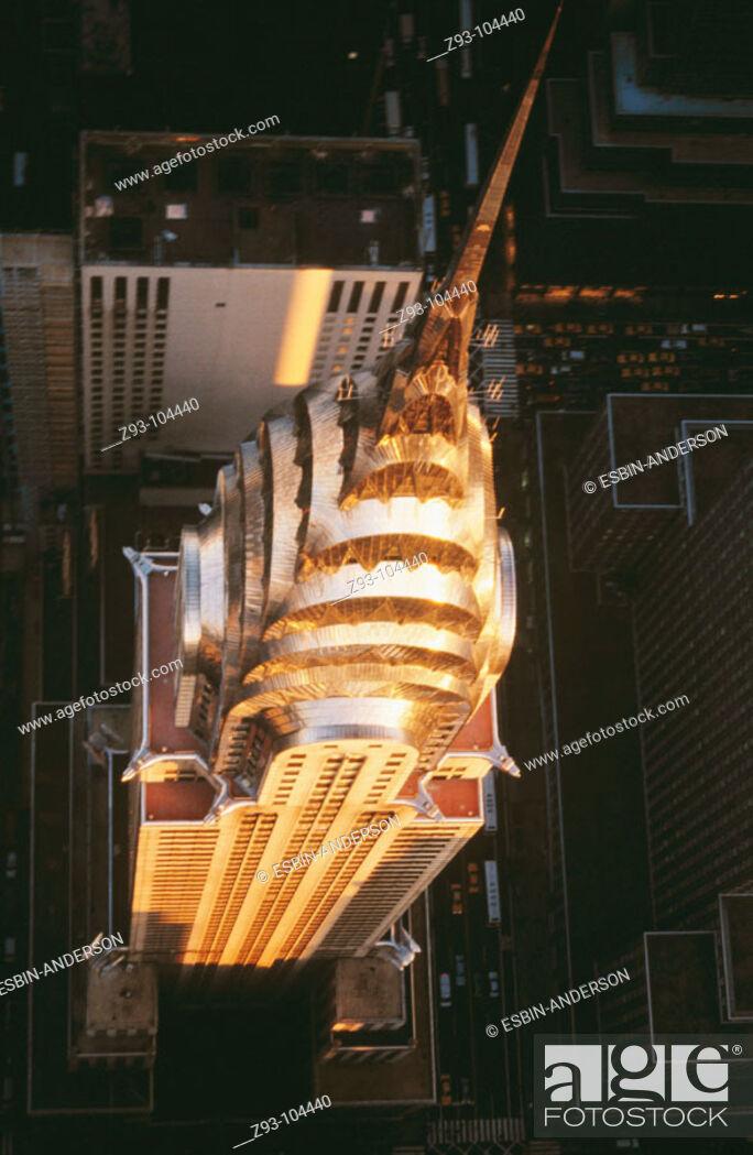 Stock Photo: Chrysler Building. New York City. USA.