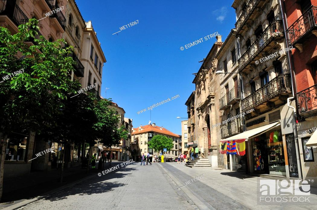 Imagen: Europe, Spain, Castile and Leon, Castillia y Leon, Salamanca, Unesco World Heritage Site,.