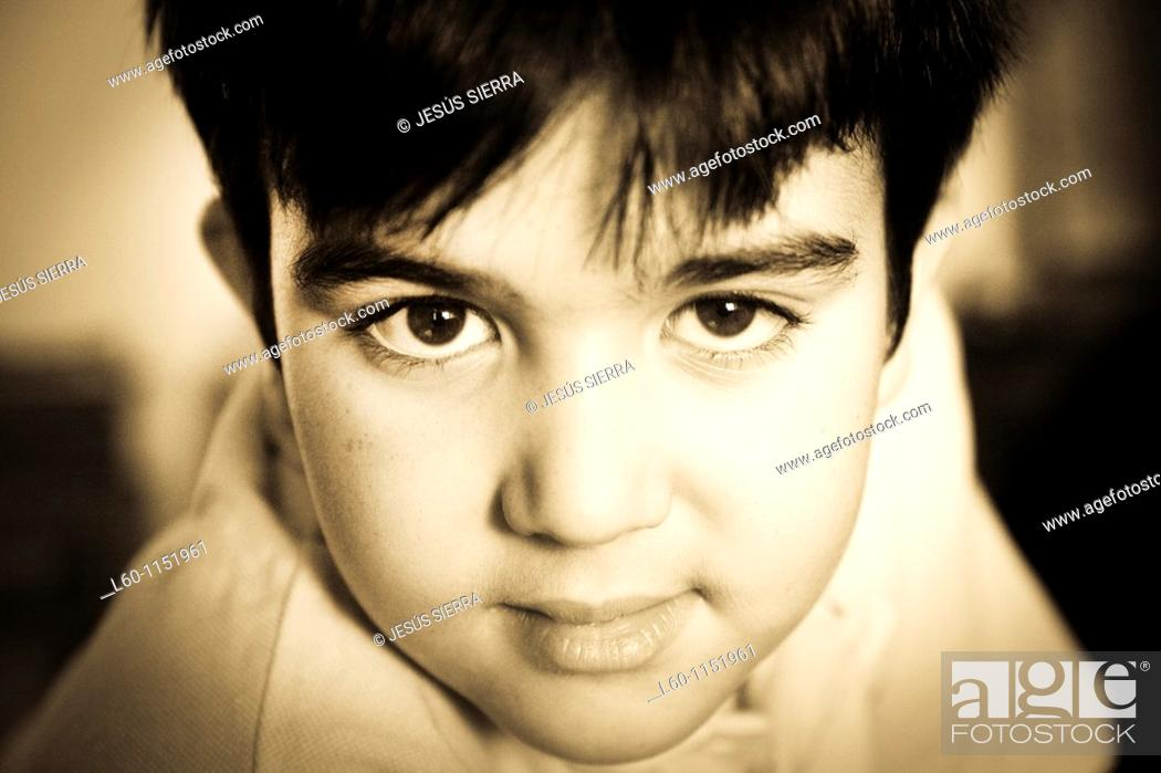 Stock Photo: Portrait of young Boy.