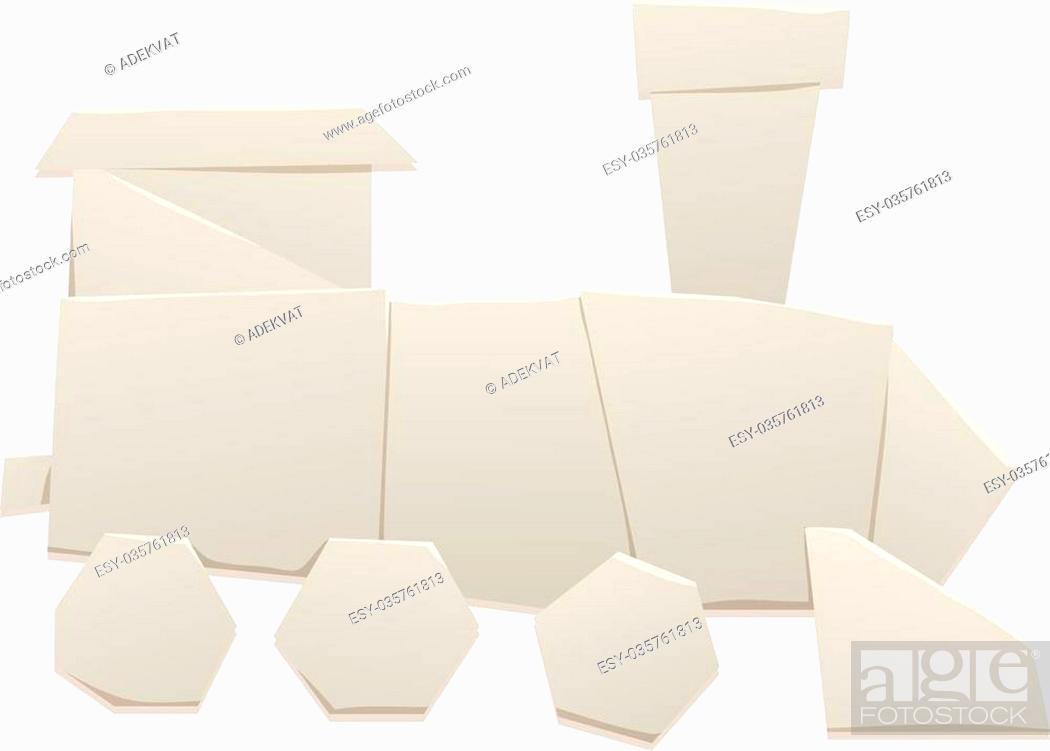 easy origami train - Google Search | Origami tutorial easy ... | 700x979