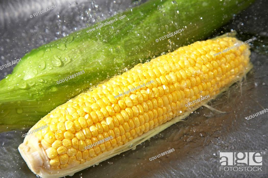 Stock Photo: Corn.