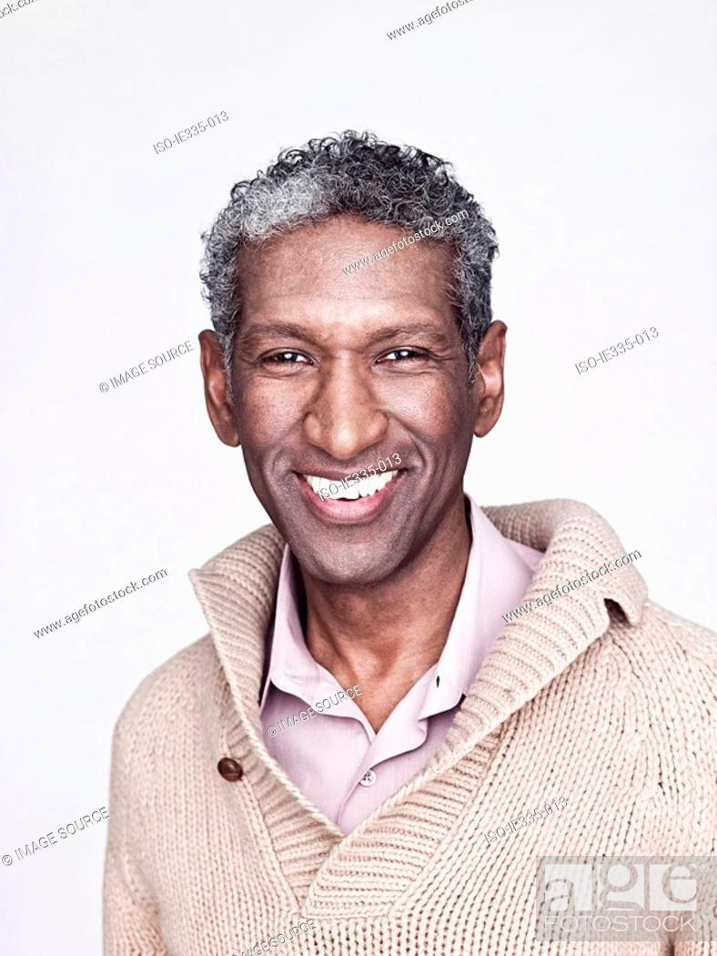 Stock Photo: Portrait of a mature man.