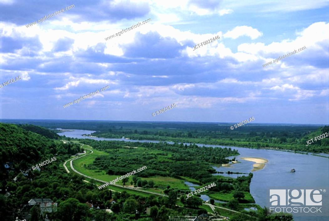Stock Photo: Poland, The Vistula.