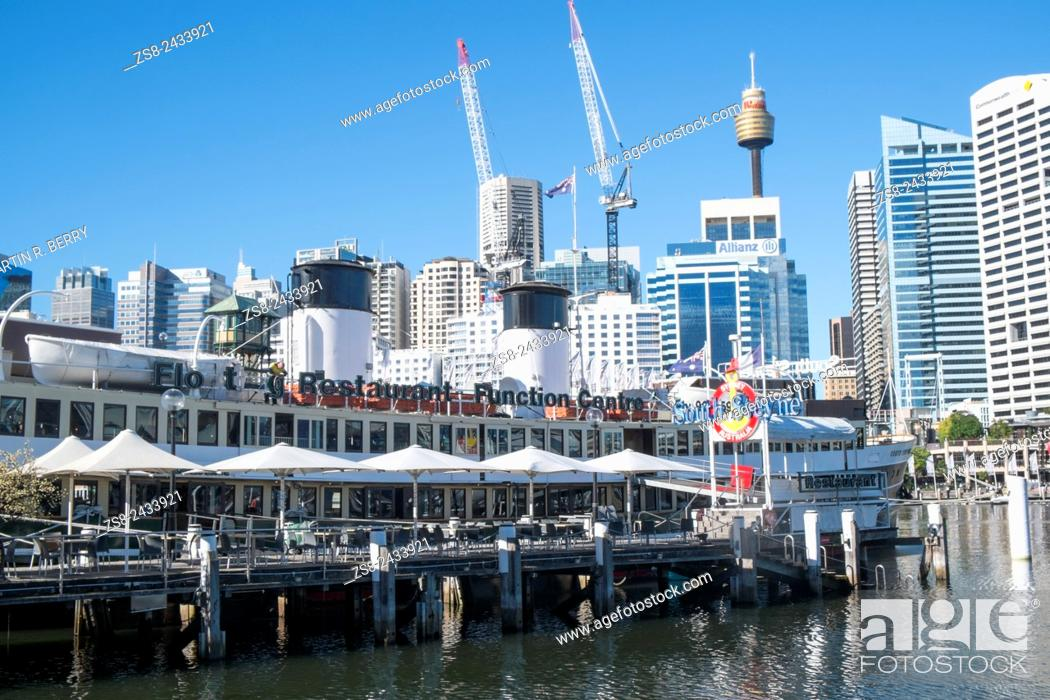 Stock Photo: Sydney Darling Harbour and City Centre, Australia.