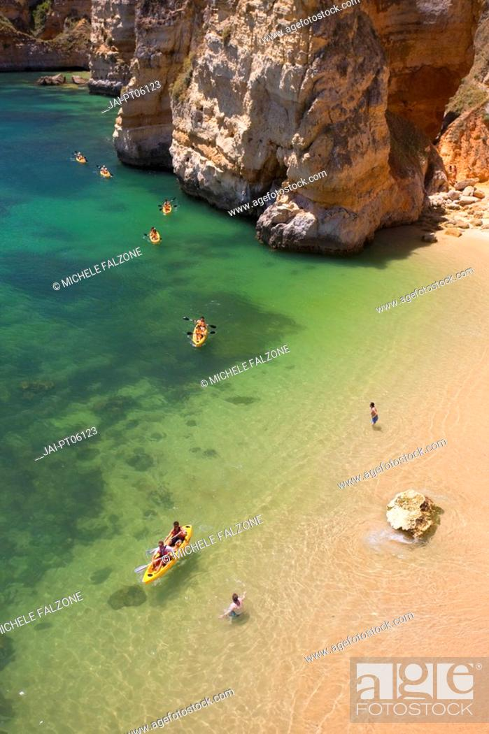 Stock Photo: Praia da Dona Ana, Lagos, Algarve, Portugal.