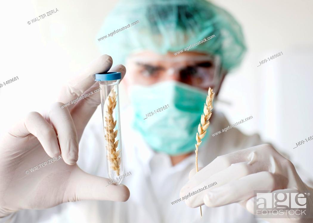 Stock Photo: Biogenetic Research.