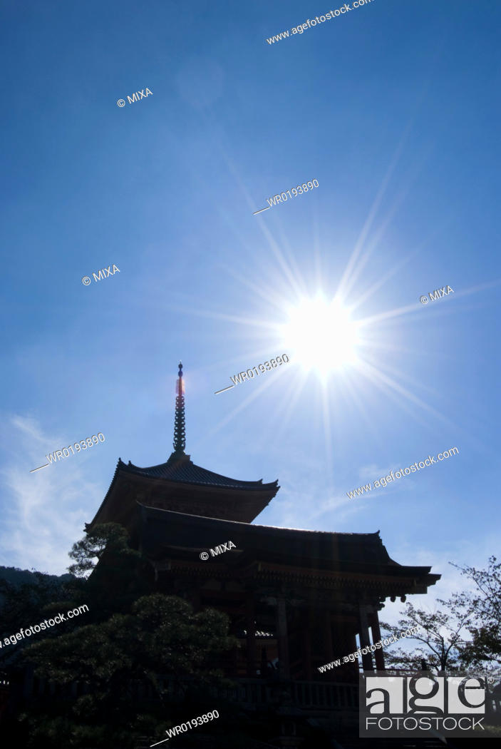 Stock Photo: Kiyomizu-dera Temple, Kyoto, Japan.