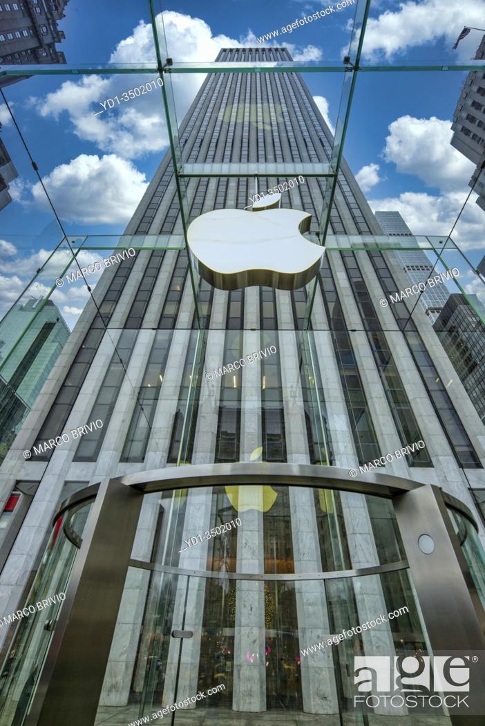 Imagen: New York. Manhattan. Apple Store 5th Avenue.
