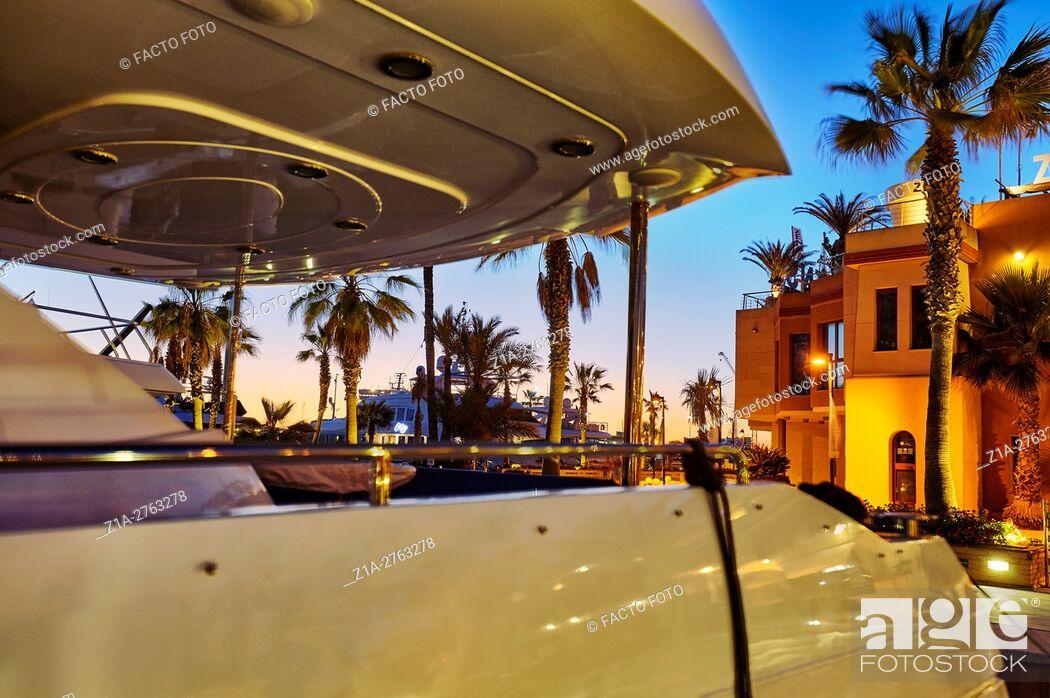 Imagen: Yachting port. Denia. Alicante. Valencia community. Spain.