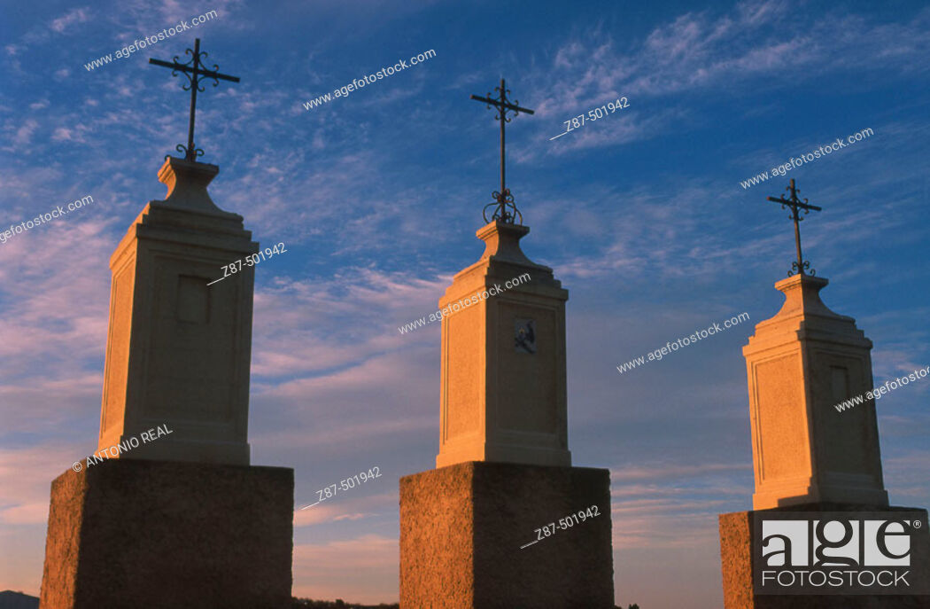 Stock Photo: Villaescusa de Haro. Cuenca province, Castilla-La Mancha, Spain.