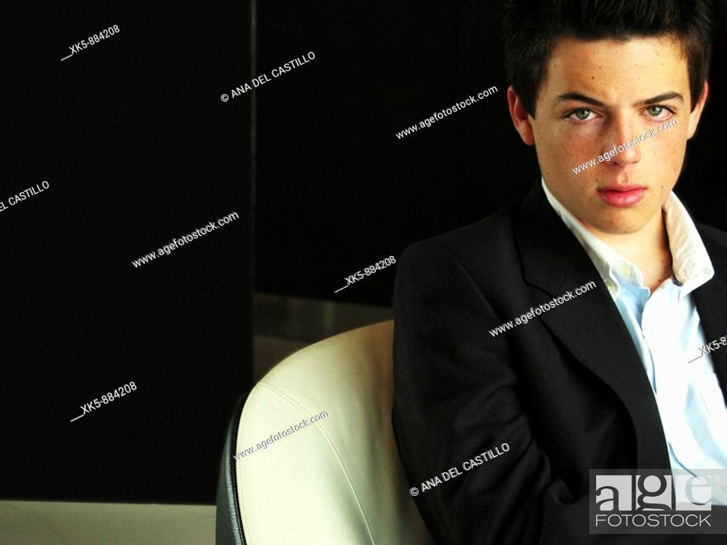 Stock Photo: Handsome boy.