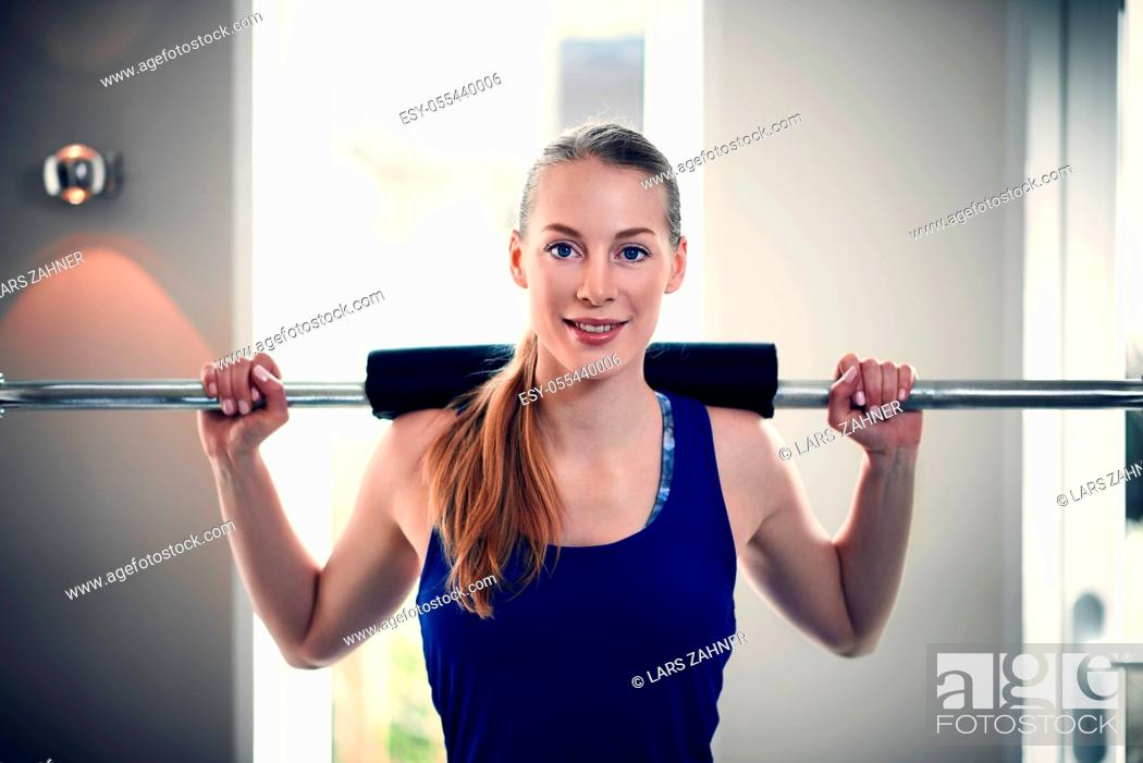 Stock Photo: weightlifting, muscle, mass.