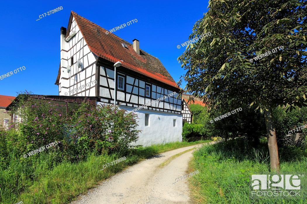 Stock Photo: D-Worms, Rhine, Upper Rhine, Rhenish Hesse, Rhine-Neckar area, Rhine-Main district, Rhineland-Palatinate, D-Worms-Ibersheim, Ibersheim village.