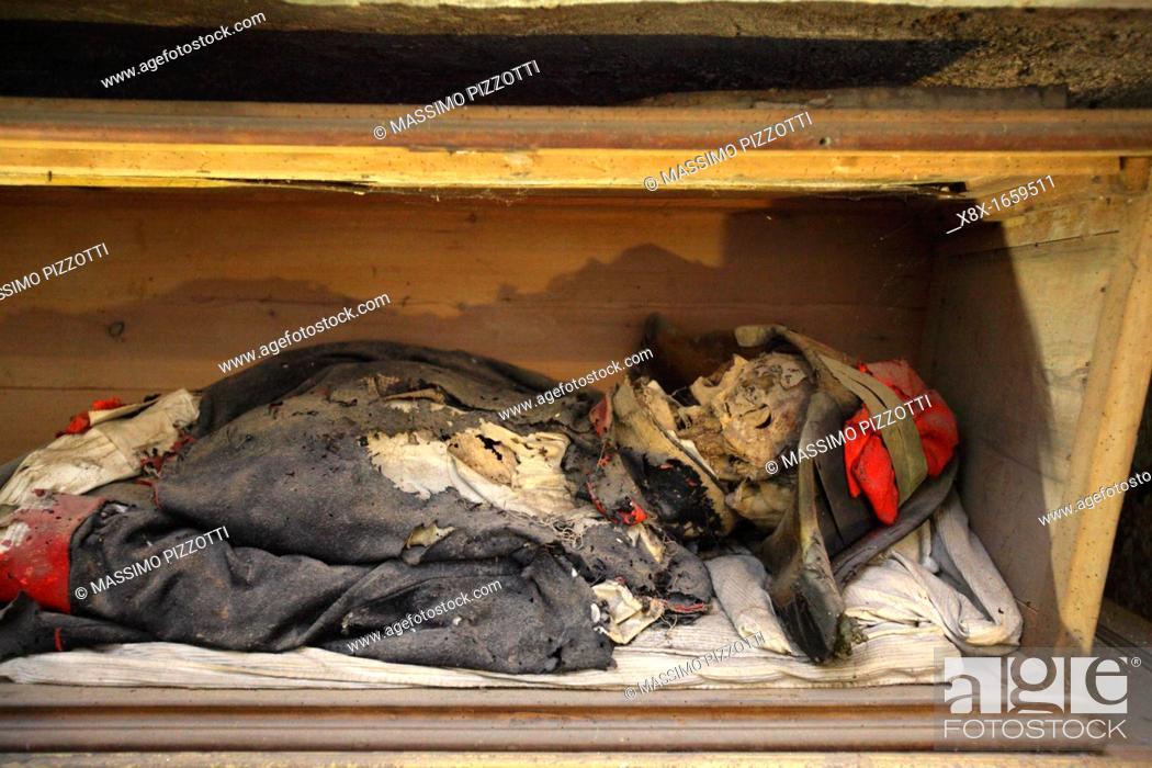 Imagen: Capuchin catacombs of Palermo, Sicily, Italy.