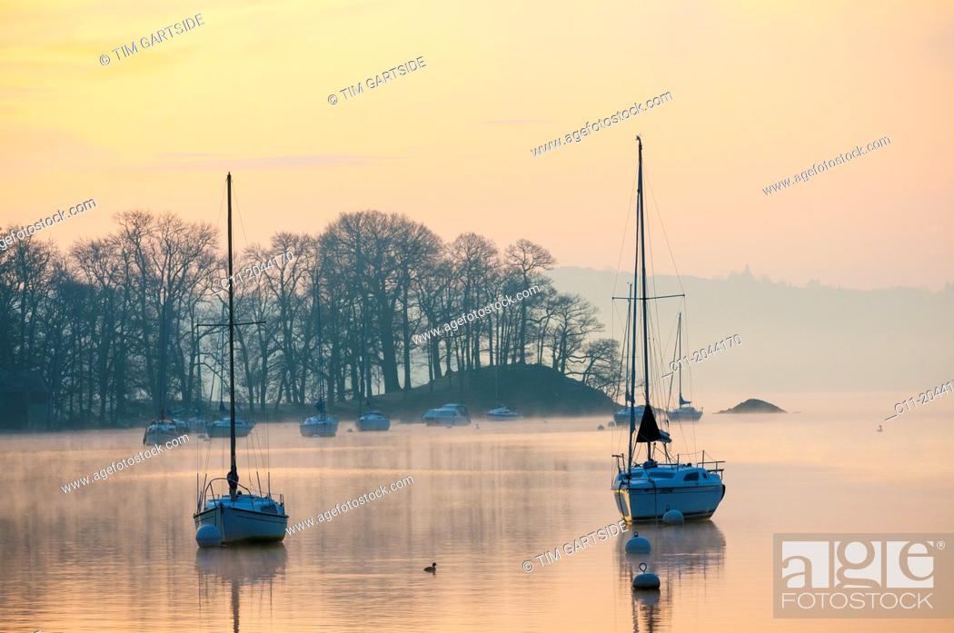 Stock Photo: borrans park, ambleside, lake district, cumbria, england, uk, europe.