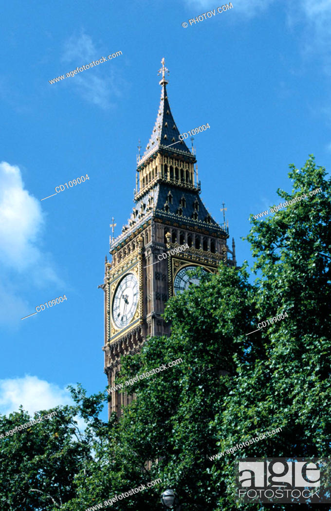 Stock Photo: Big Ben. London. England.