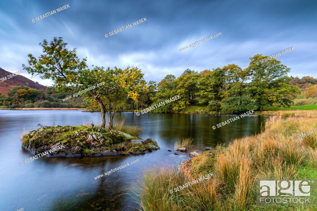Stock Photo: Rydal Water, Lake District National Park, Cumbria, England, United Kingdom, Europe.
