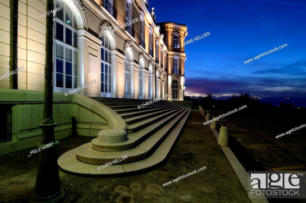 Stock Photo: Palais du Prado or Prado Palace & Park or Garden Marseille Provence France.