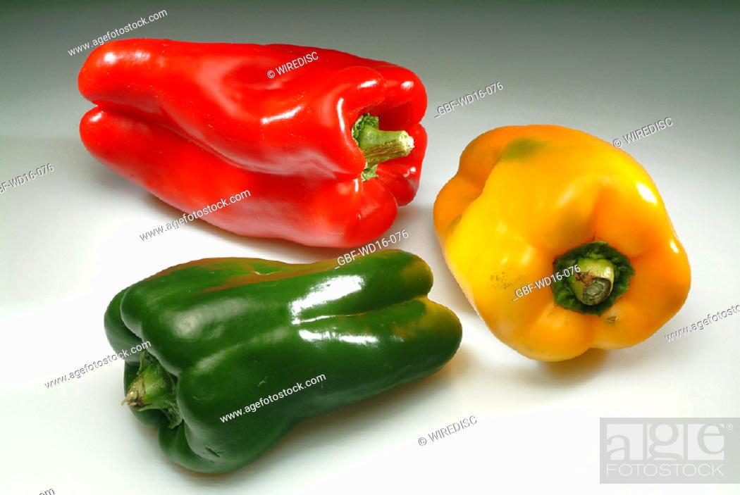 Stock Photo: Food, vegetables, pepper.