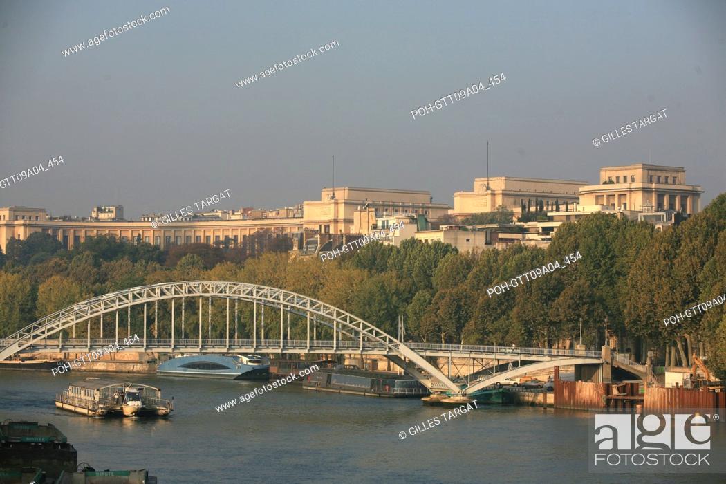 Tourism France Paris 16th Arrondissement Palais De