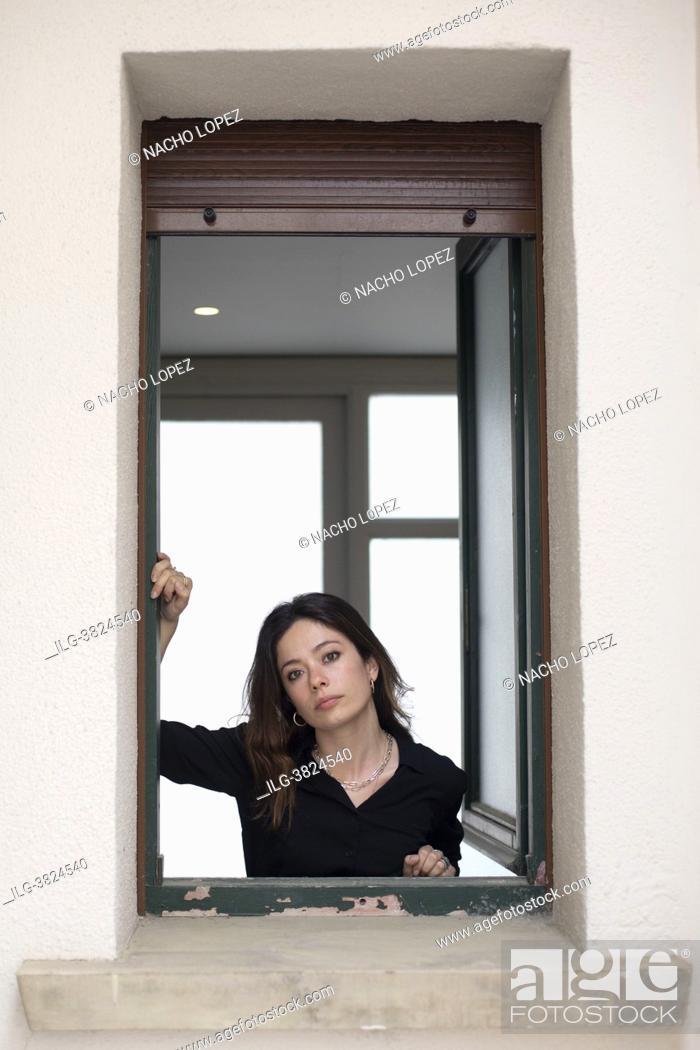 Imagen: Anna Castillo poses for a photo session 'Lo que Viene film Festival' on 'La vida era eso' May 13, 2021 in Tudela, Navarra, Spain.