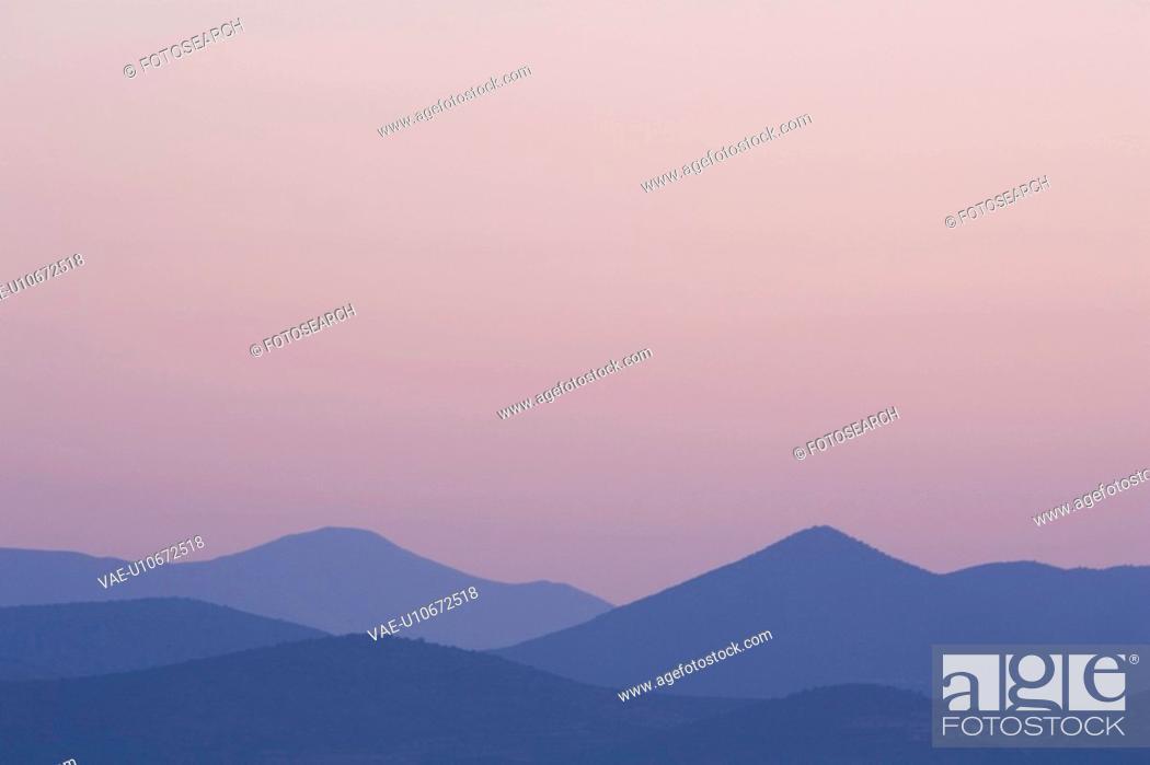 Stock Photo: Blue, Generic Location, Mountain.