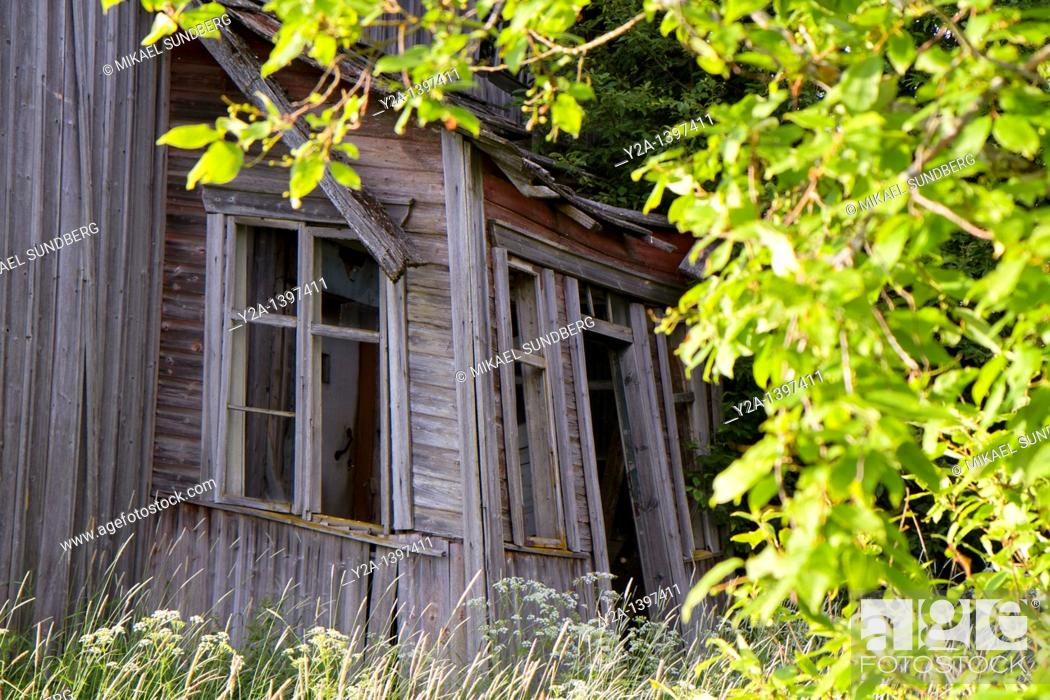 Stock Photo: old house.