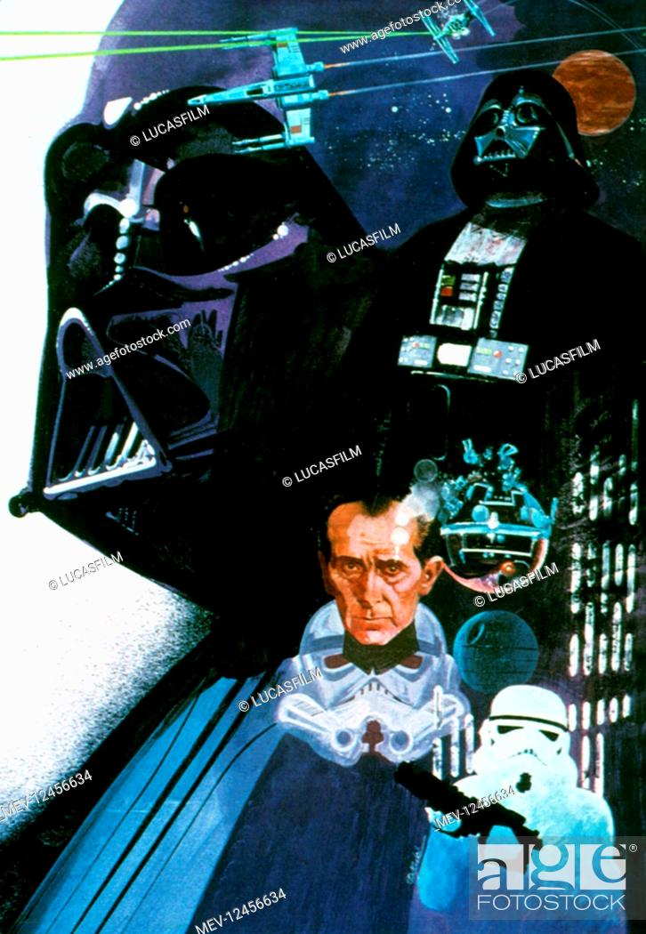 Movie Art Work Film Star Wars Star Wars Episode Iv A New Hope Usa 1977 Neuer Titel Auch Stock Photo Picture And Rights Managed Image Pic Mev 12456634 Agefotostock