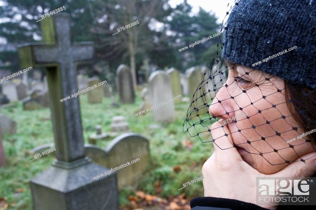 Stock Photo: Bromton cemetery in London. England, UKÂ.
