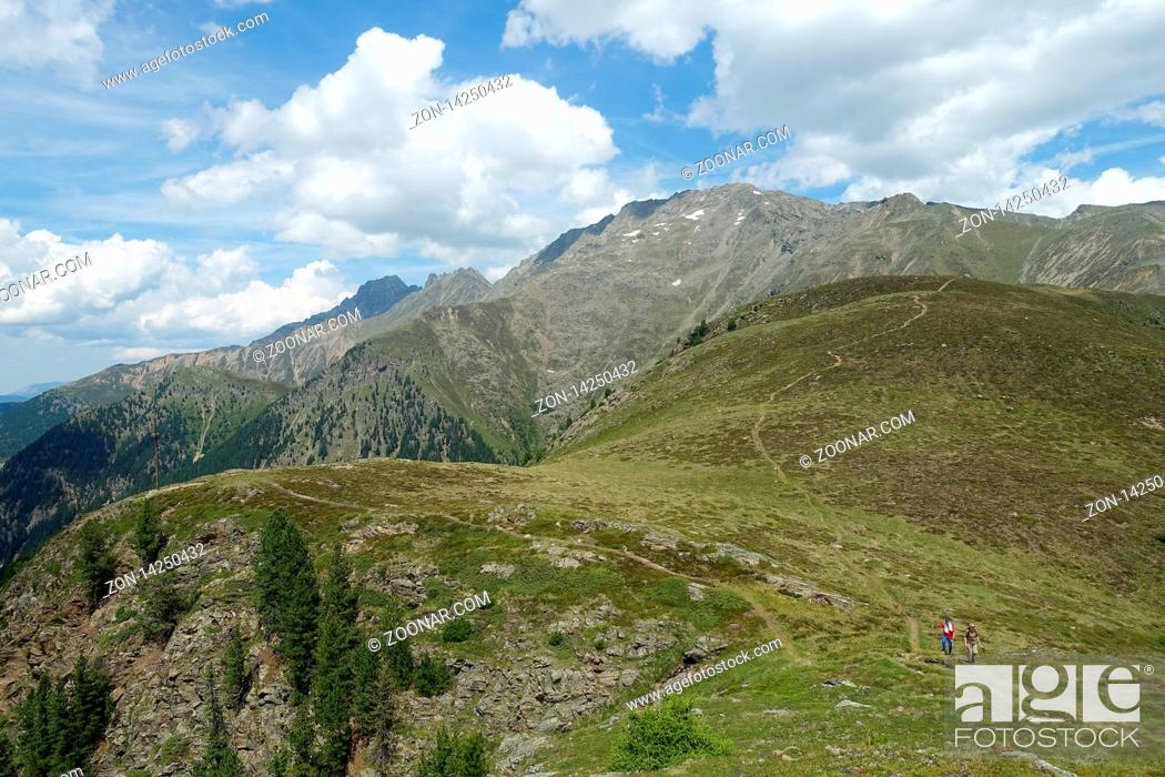 Imagen: Verano, Suelo, Andando, Glaciar, Sendero, Excursionismo, Austria, Suciedad, Tirol, Alpes, Tirolés, Wandern, Tiroler, Osttirol, Berge, Sommer, Narrenkogel, Schoen, Schoene, Alpen