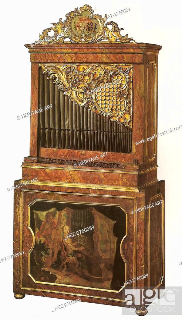 Photo de stock: Chamber Organ, 18th century. Creator: Unknown.