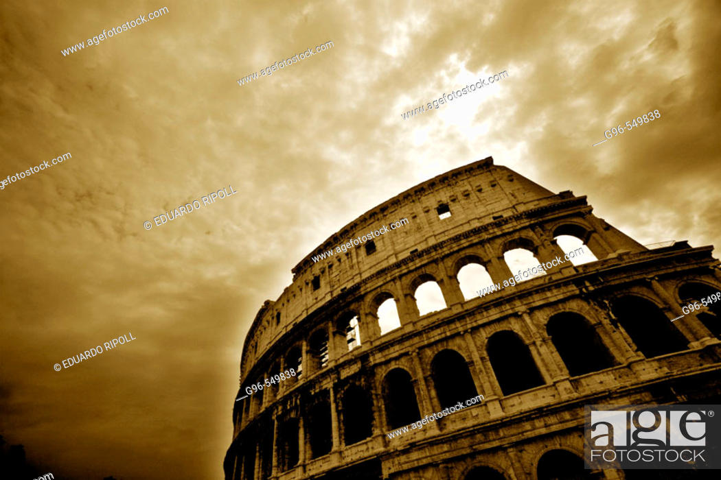 Stock Photo: Colosseum, Rome. Lazio, Italy.