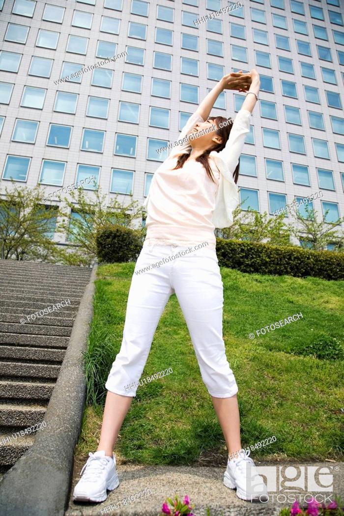 Stock Photo: Exercise.