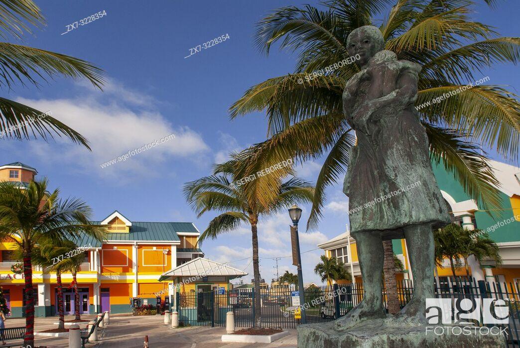 Stock Photo: Festival Place in Nassau Bahamas.