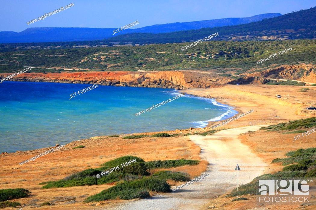 Stock Photo: Cyprus, cap Drepano.