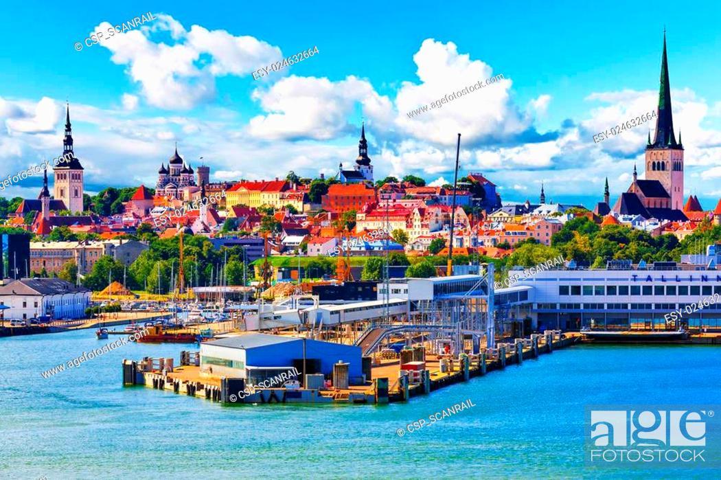 Stock Photo: Tallinn, Estonia.
