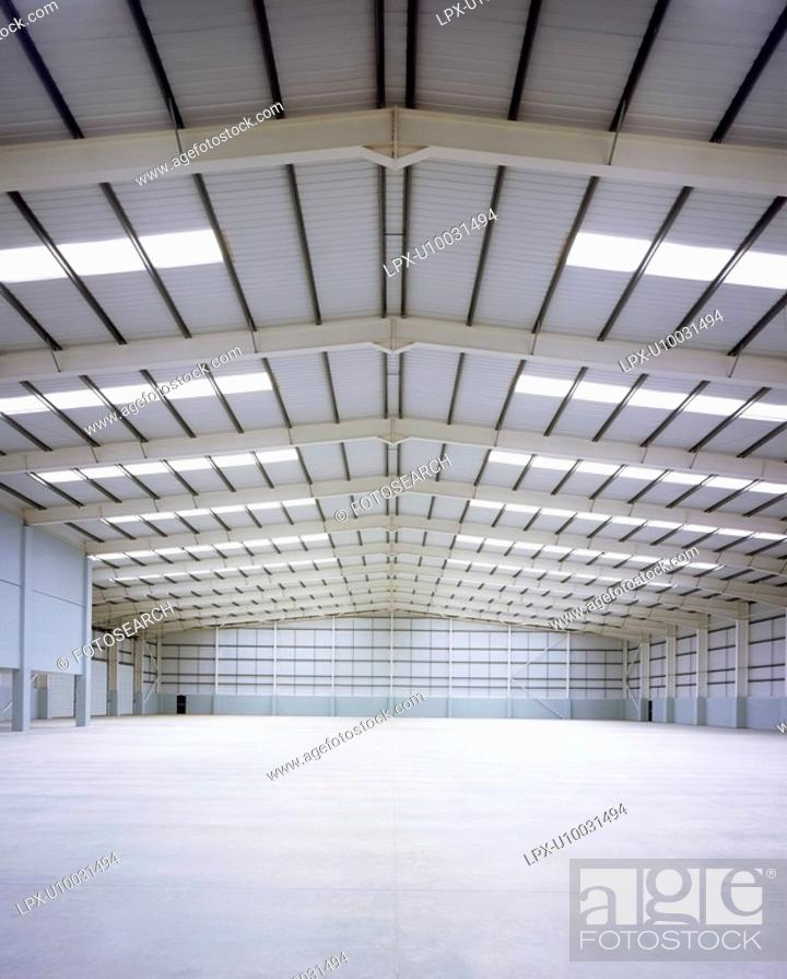 Stock Photo: Interior of Warehouse.