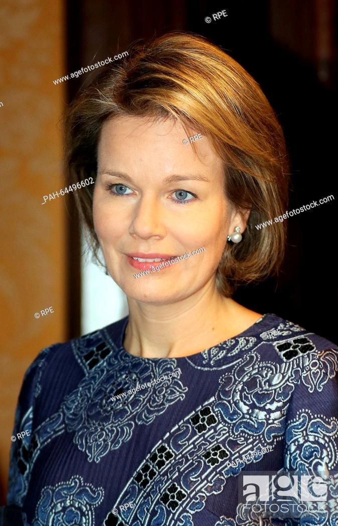 Gent, 16-12-2015 HM Queen Mathilde HM Queen Mathilde of Belgium ...