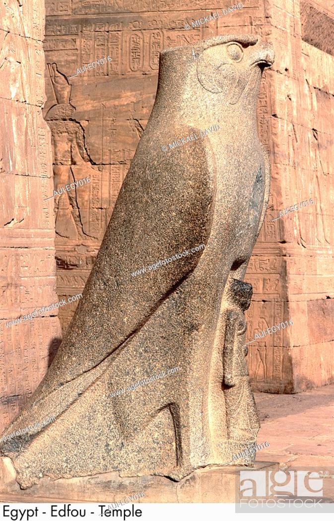 Stock Photo: Egypt - Edfu - Temple.