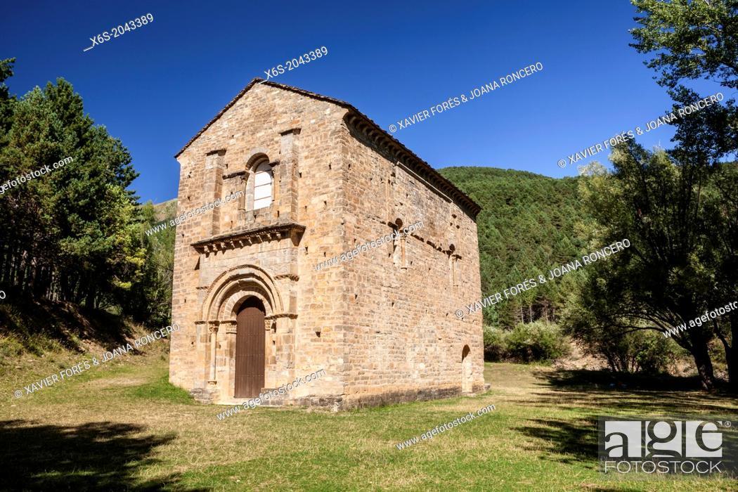 Imagen: Church of Santa María de Iguácel, Garcipollera valley, Huesca, Spain.