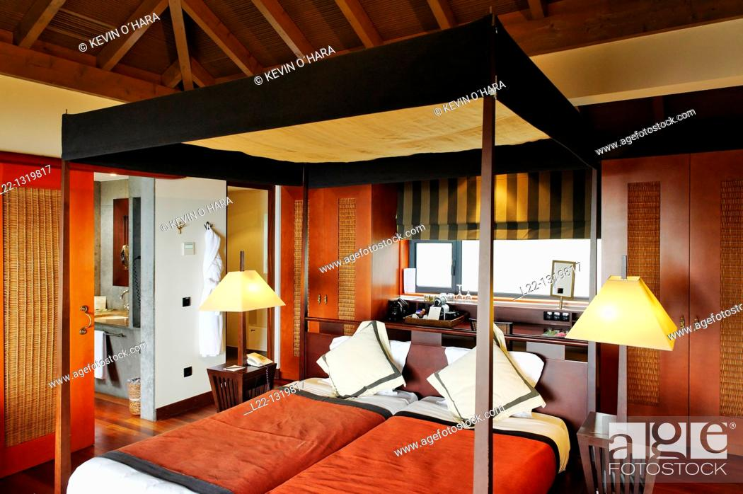 Stock Photo: Choupana Hills Resorts & Spa, Madeira Island, Portugal.