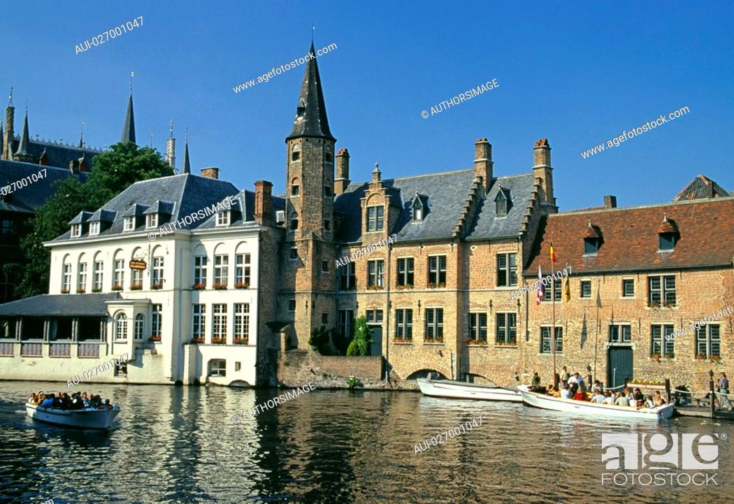 Stock Photo: Belgium - Flanders - Bruges.