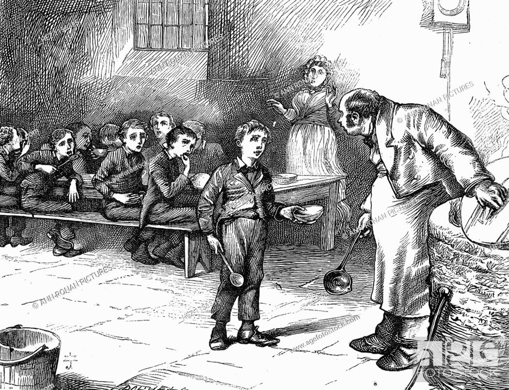 symbolism and moral issues represented in charles dickens oliver twist Dickens uses a distant, journalistic tone when describing poor neighborhoods to add to the realism of oliver twist, but the distance has the additional effect of making it.