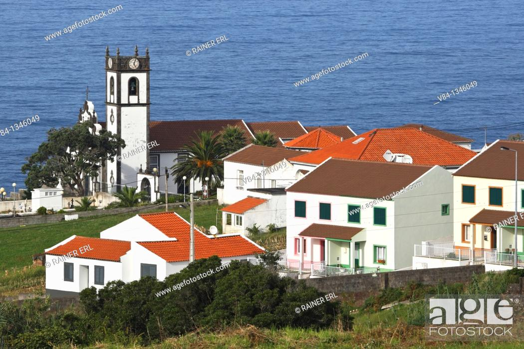Stock Photo: Feteira Pequena / Sao Miguel Island / Azores / Portugal.