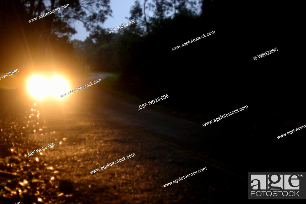 Stock Photo: Transpot, headlight.