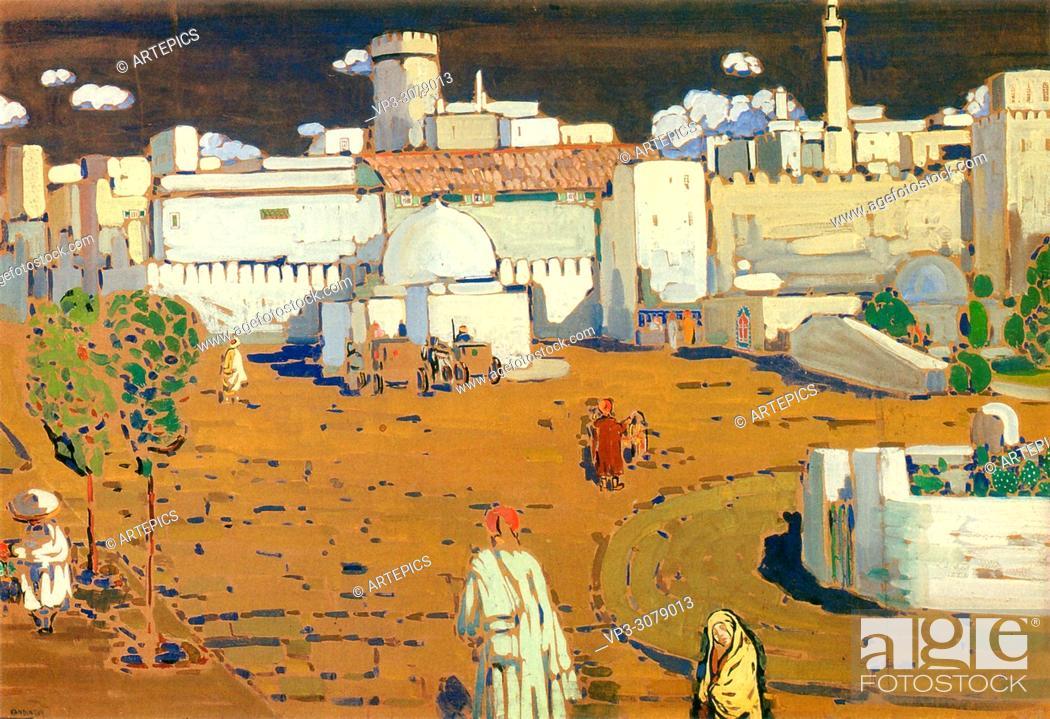 Stock Photo: Kandinsky Wassily - Arab Town.